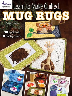 cover image of Learn to Make Quilted Mug Rugs
