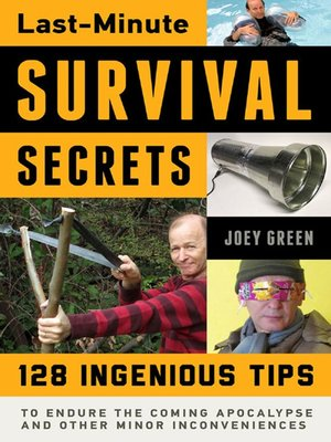 cover image of Last-Minute Survival Secrets