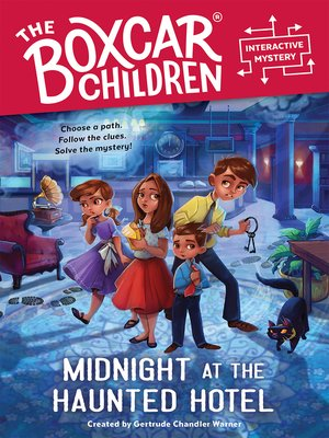cover image of Midnight at the Haunted Hotel