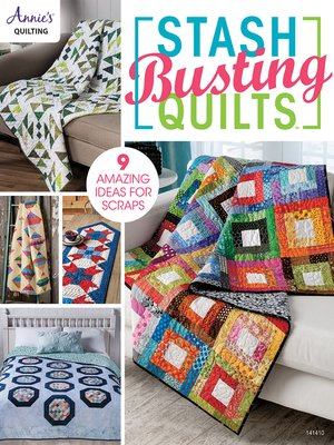 cover image of Stash-Busting Quilts