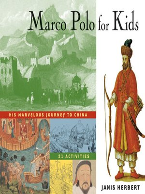 cover image of Marco Polo for Kids