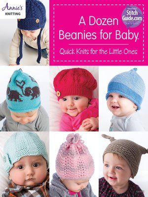 cover image of A Dozen Beanies for Baby