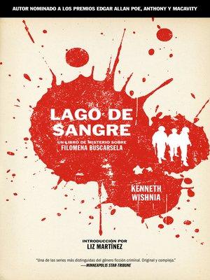 cover image of Lago de Sangre