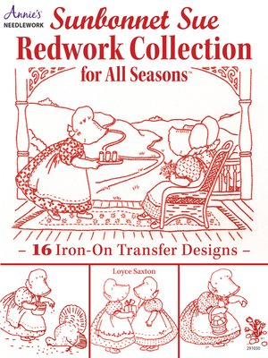 cover image of Sunbonnet Sue Redwork Collection