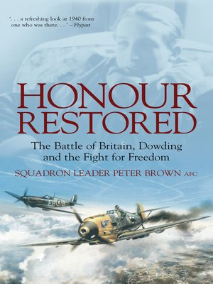 cover image of Honour Restored