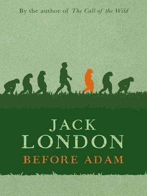 cover image of Before Adam