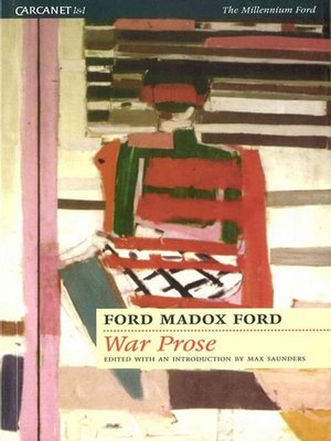 cover image of War Prose