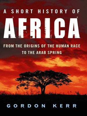 cover image of A Short History of Africa