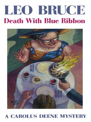 cover image of Death with Blue Ribbon