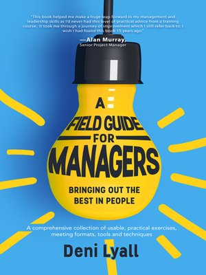 cover image of A Field Guide for Managers