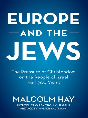 cover image of Europe and the Jews