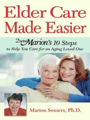 cover image of Elder Care Made Easier