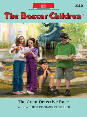 cover image of The Great Detective Race