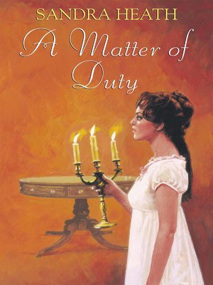 cover image of A Matter of Duty