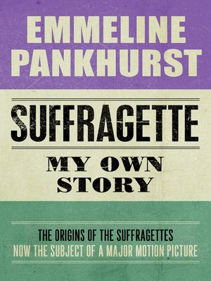 cover image of Suffragette