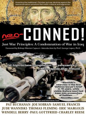 cover image of Neo-Conned!:  Just War Principles