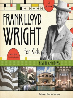cover image of Frank Lloyd Wright for Kids