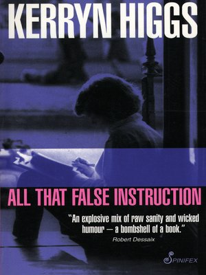 cover image of All That False Instruction