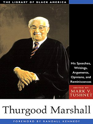 cover image of Thurgood Marshall