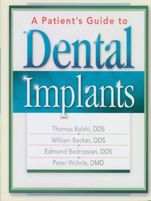 cover image of A Patient's Guide to Dental Implants