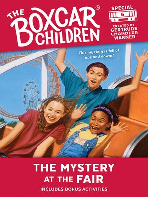 cover image of The Mystery at the Fair