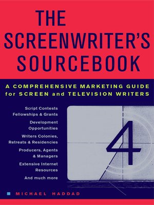 cover image of The Screenwriter's Sourcebook