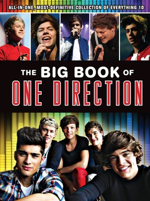 cover image of The Big Book of One Direction