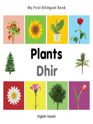 cover image of My First Bilingual Book–Plants (English–Somali)