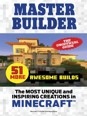 cover image of Master Builder 51 MORE Awesome Builds