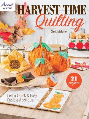 cover image of Harvesttime Quilting
