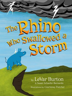 cover image of The Rhino Who Swallowed a Storm