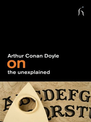 cover image of On the Unexplained