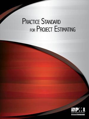 cover image of Practice Standard for Project Estimating