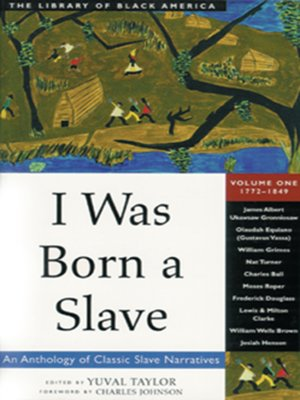 cover image of I Was Born a Slave, Volume 1