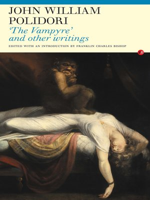 cover image of The Vampyre' and Other Writings
