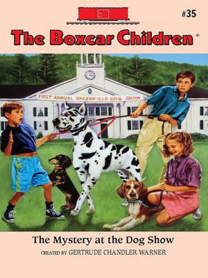 cover image of The Mystery at the Dog Show