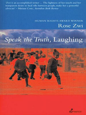 cover image of Speak the Truth, Laughing