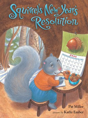 cover image of Squirrel's New Year's Resolution