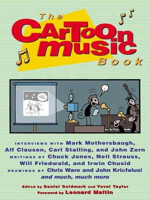 cover image of The Cartoon Music Book