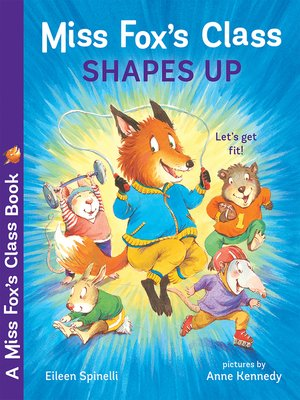 cover image of Miss Fox's Class Shapes Up