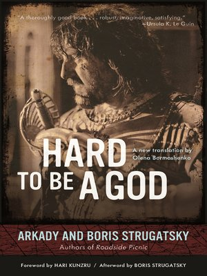 cover image of Hard to Be a God