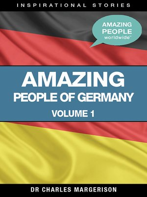 cover image of Amazing People of Germany