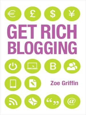 cover image of Get Rich Blogging