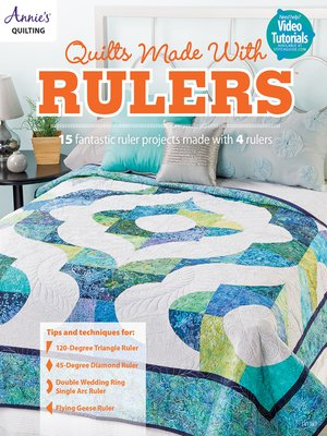 cover image of Quilts Made with Rulers
