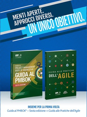 cover image of A Guide to the Project Management Body of Knowledge (PMBOK(R) Guide- / Agile Practice Guide Bundle (ITALIAN)
