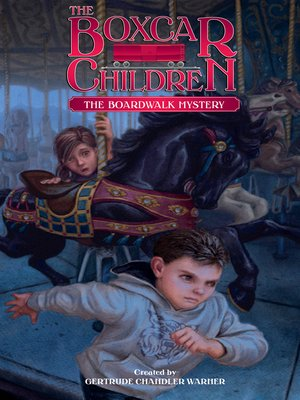 cover image of The Boardwalk Mystery