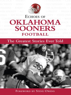 cover image of Echoes of Oklahoma Sooners Football