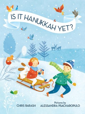 cover image of Is It Hanukkah Yet?