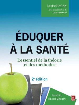 cover image of Eduquer à la santé 2e édi