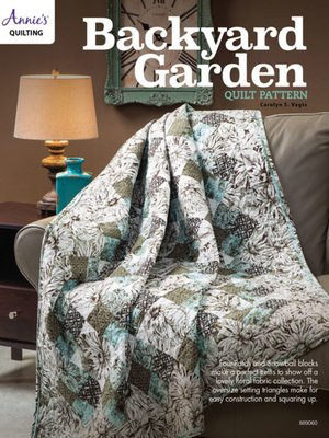 cover image of Backyard Garden Quilt